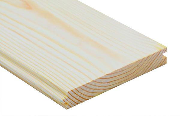 Planed Pine Floorboards