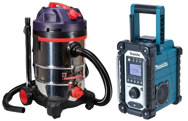 Vacuums & Site Radios