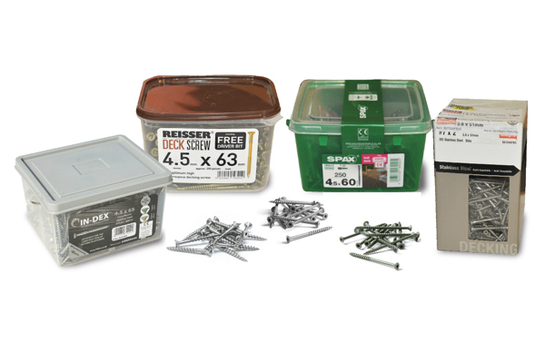 Landscape & Decking Fixings