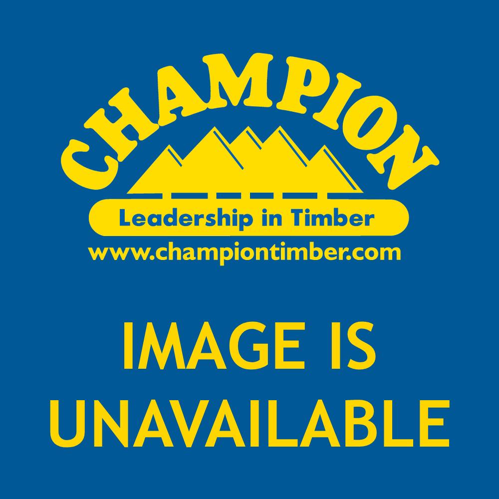 "'Champion Woodscrew Black Round Head 10 x 1\"" Pack of 15'"